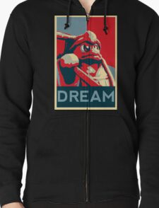 Dedede For President Zipped Hoodie