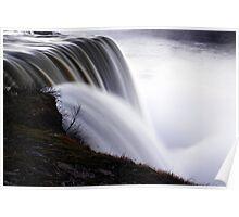 Close Up Of Niagara Falls American Side Poster