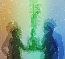 Kingdom Hearts Design by Kellbellz