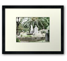 Pioneer Graves Framed Print
