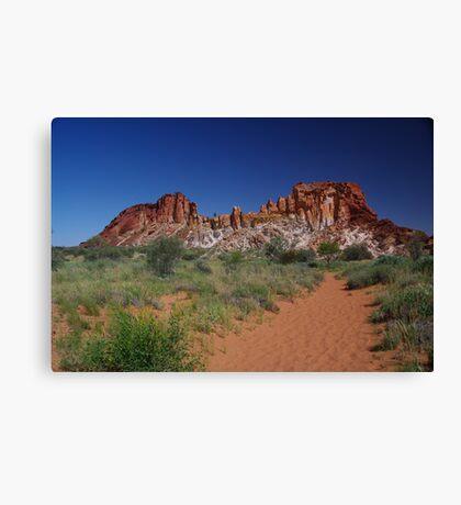 Rainbow Valley, Central Australia Canvas Print
