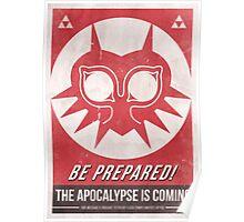 Majora's Mask Apocalypse Poster Poster