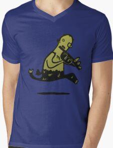 Frolicking satyr Mens V-Neck T-Shirt