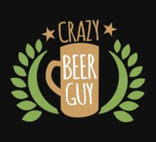 Crazy Beer Guy by jazzydevil