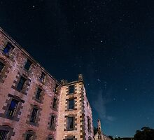 Night sky at Port Arthur by collpics