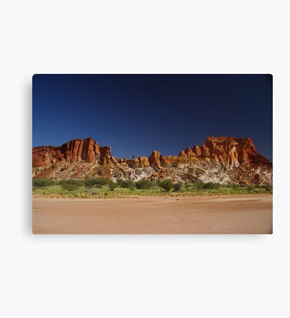 Rainbow Valley,Conservation Reserve, Northern Territory Canvas Print