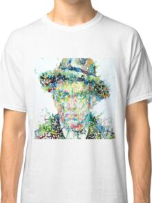 Mayakovsky - watercolor portrait Classic T-Shirt