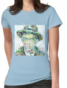 Mayakovsky - watercolor portrait Womens Fitted T-Shirt
