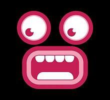 Shocked TIKI Screaming by jazzydevil
