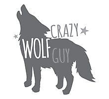 Crazy Wolf Guy Photographic Print