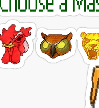 Hotline Miami - Choose a Mask Sticker