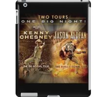 Two Tour One Big Night Kenny Chesney And Jason Aldean iPad Case/Skin
