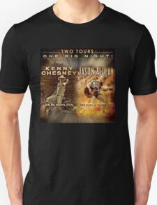 Two Tour One Big Night Kenny Chesney And Jason Aldean T-Shirt