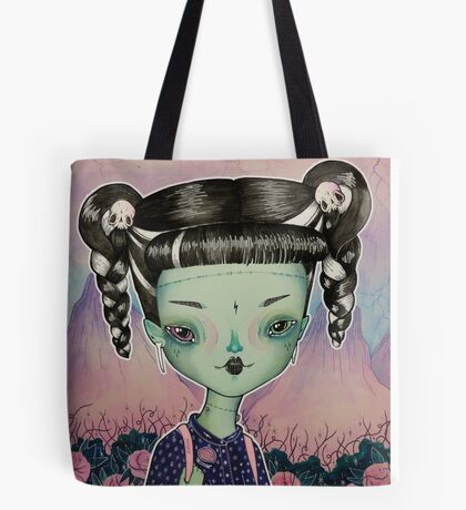 Frankie Goes To School Tote Bag