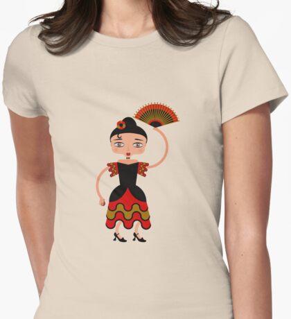 Spanish Flamengo Dancer T-Shirt