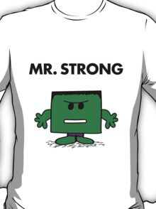 The Hulk - Mr Strong T-Shirt