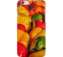 Sweet Bell Peppers iPhone Case/Skin