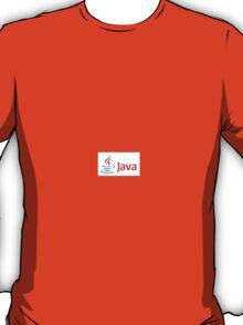 Java Sticker T-Shirt