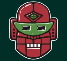 Retro Robot Head by Artberry