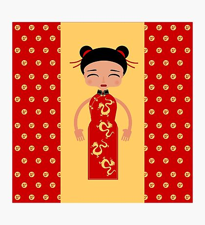 Little China girl Photographic Print