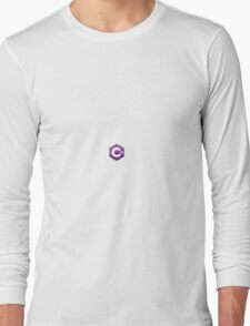 C# sharp stickers Long Sleeve T-Shirt