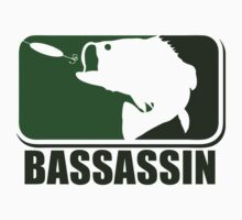 Bass assassin bass fishing humor Baby Tee