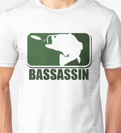 Bass assassin bass fishing humor Unisex T-Shirt