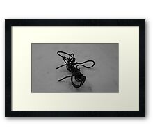 Wire Drawing #5 Framed Print