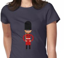 British Bearskin Cap Guard Womens Fitted T-Shirt