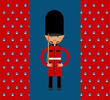 British Bearskin Cap Guard by MariaFernandes