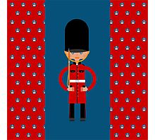 British Bearskin Cap Guard Photographic Print