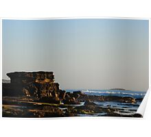 The Guardian of the Coast Line - Caves Beach NSW Poster