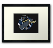 The Deadliest Bird Framed Print