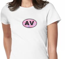 Avalon - New Jersey. Womens Fitted T-Shirt