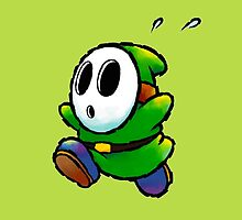 Green Shy Guy by nap3r