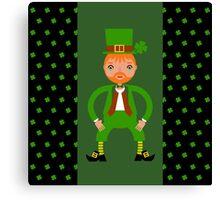 Naughty Irish Leprechaun  Canvas Print