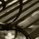 Bench Detail by Victoria DeMore