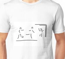soccer shot at goal football Unisex T-Shirt