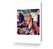 merry-go -round  Greeting Card