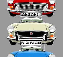MG MGB evolution  by car2oonz