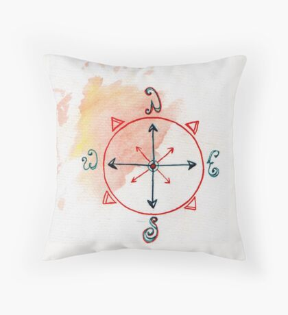 Which Direction are you Going? Throw Pillow