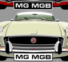 MG MGB evolution  Sticker