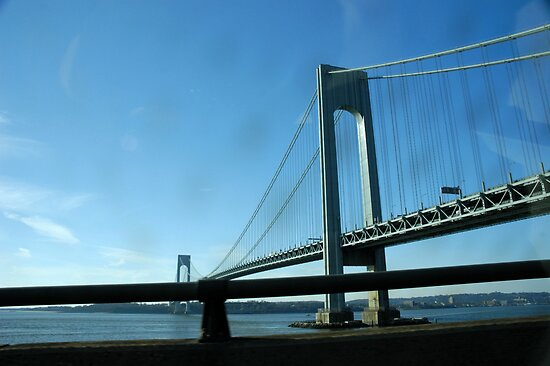 The Verrazano-Narrows Bridge as Seen From the Belt Parkway by Paul Gitto