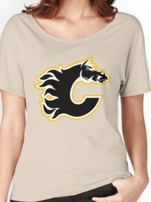 Calgary Flames - On Fire! Women's Relaxed Fit T-Shirt