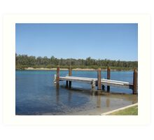 Sussex Inlet Jetty Art Print