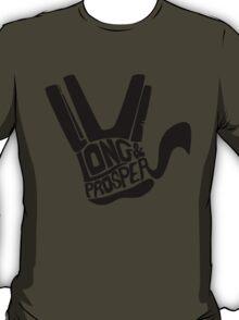 Prosperous - Black T-Shirt