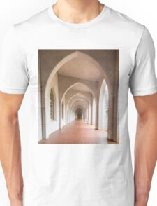 Arches to Door in Black and White Unisex T-Shirt