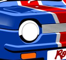 Reliant Robin Union Jack Sticker