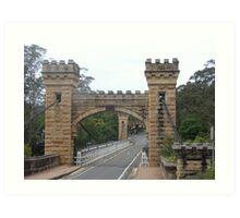 Hampden Bridge Kangaroo Valley Art Print