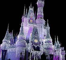 The Castle In Purple....  by Angela Lance